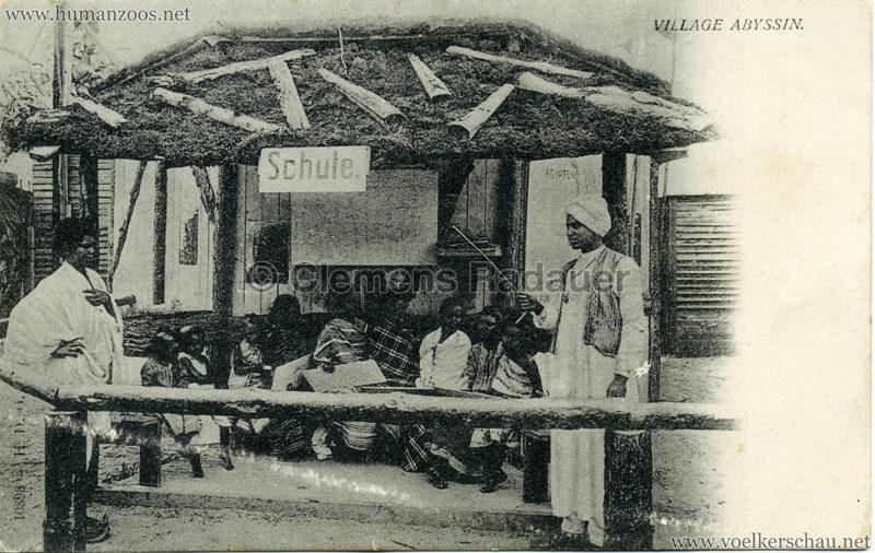 Abyssinisches Dorf (Village Abyssin)