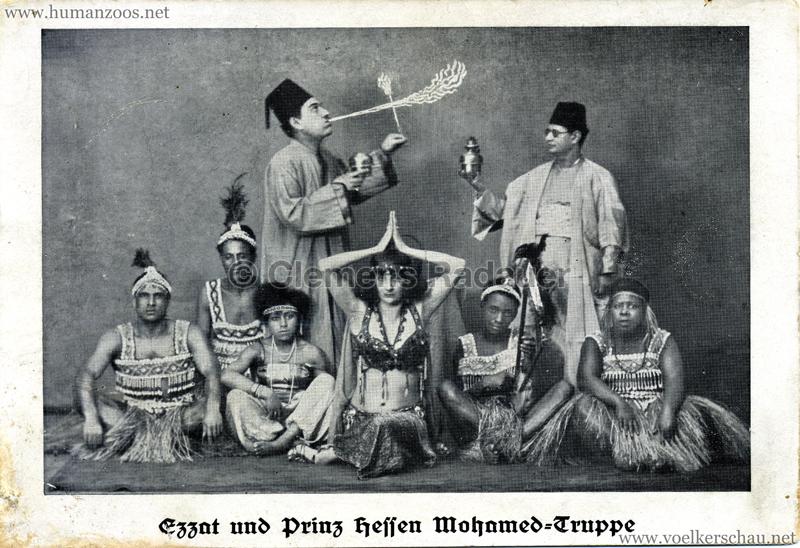 Aegypten und seine Rätsel - Ezzat und Prinz Hessen Mohamed-Truppe 3