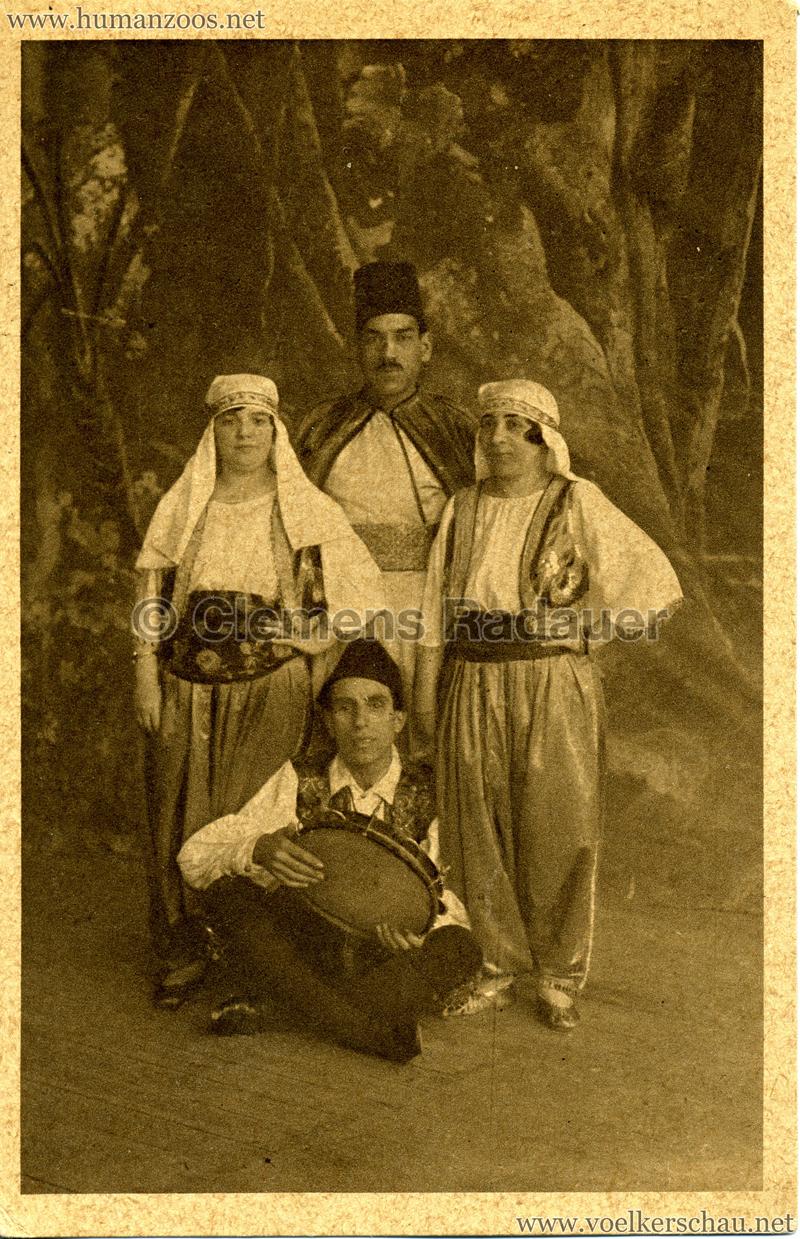 Aegypten und seine Rätsel - Ezzat und Prinz Hessen Mohamed-Truppe 4