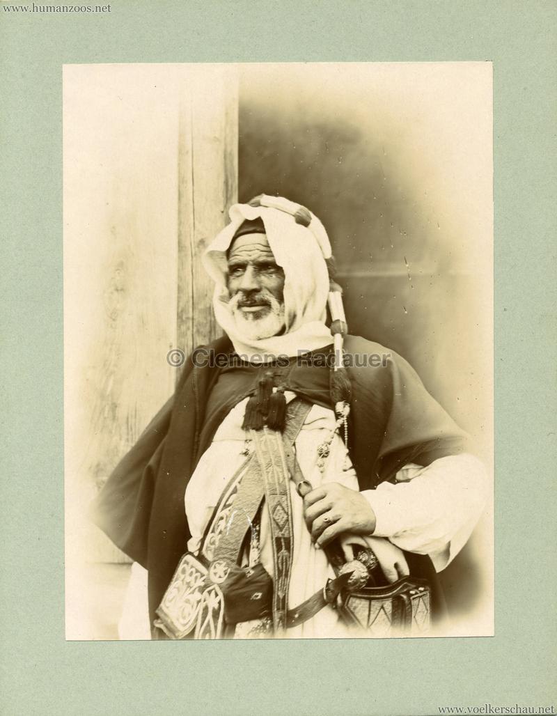 Afrikanische Völkerschau (1901 Berlin Beduinen ?) 8