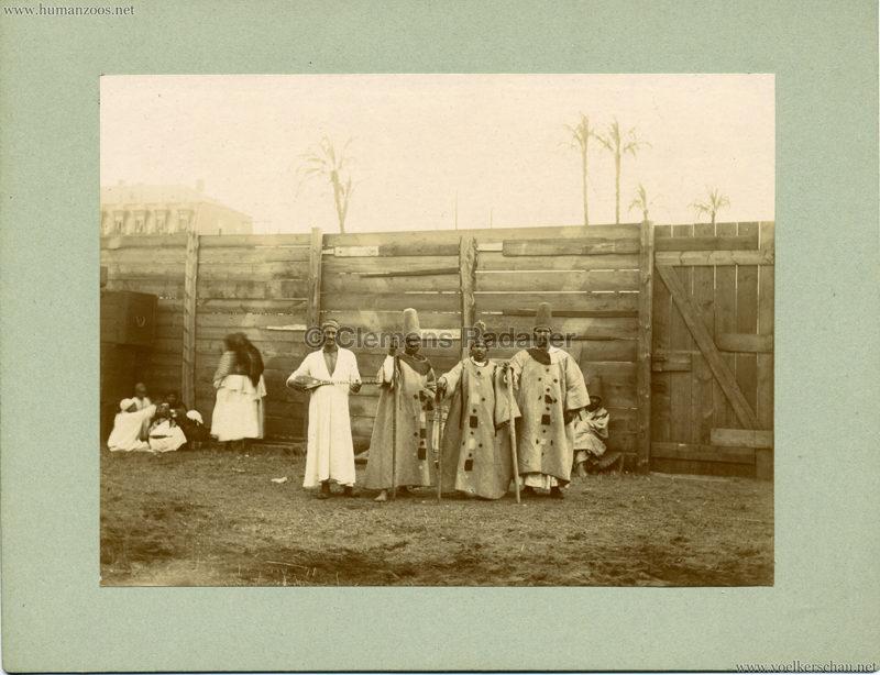 Afrikanische Völkerschau (1901 Berlin Beduinen ?) 5