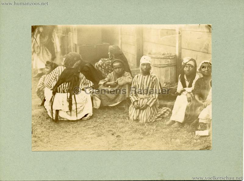 Afrikanische Völkerschau (1901 Berlin Beduinen ?) 6