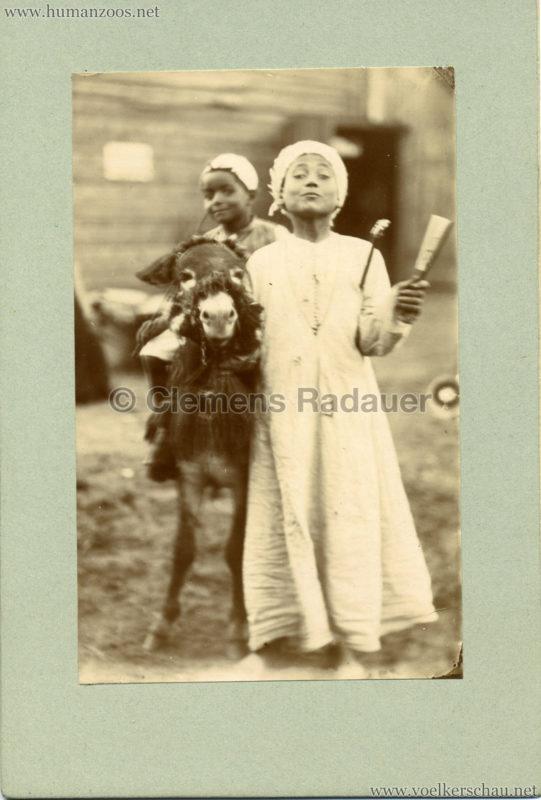 Afrikanische Völkerschau (1901 Berlin Beduinen ?) 4