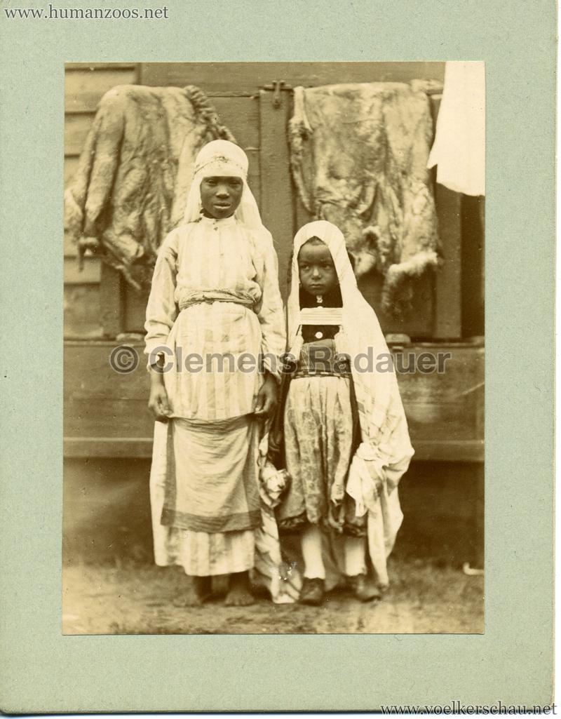 Afrikanische Völkerschau (1901 Berlin Beduinen ?) 3