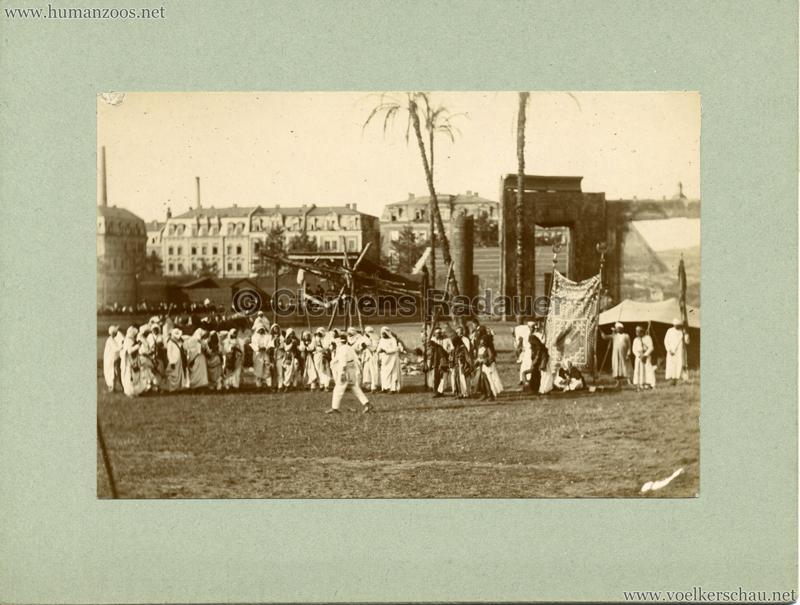 Afrikanische Völkerschau (1901 Berlin Beduinen ?) 1