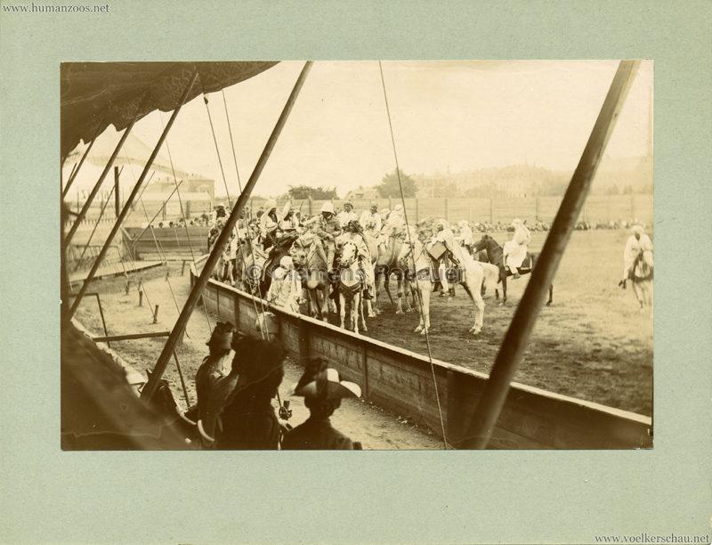 Afrikanische Völkerschau (1901 Berlin Beduinen ?) 2
