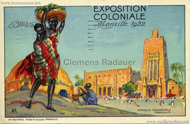 1922 Exposition Coloniale Marseille - Afrique Occidentale Française