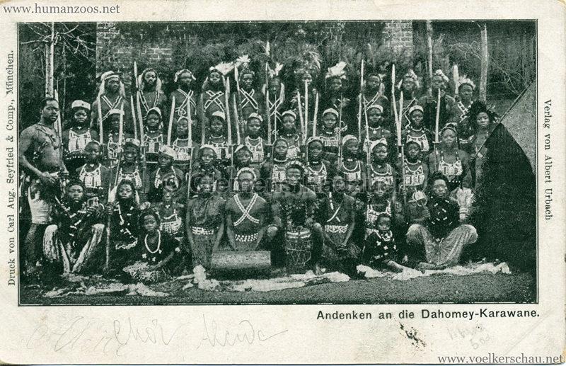 Andenken an die Dahomey-Karawane 1