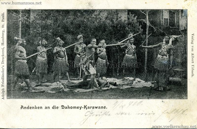 Andenken an die Dahomey-Karawane 2
