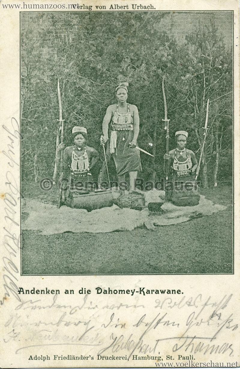 Andenken an die Dahomey-Karawane 3