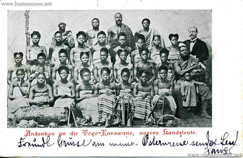 Andenken an die Togo-Karawane, unsere Landsleute