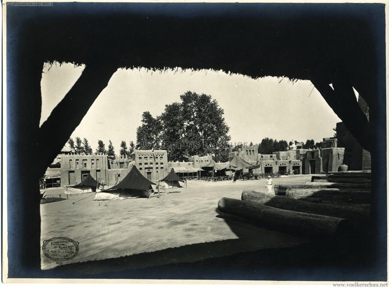 1922 Exposition Marseille  Photo - Fontaine Albert 1