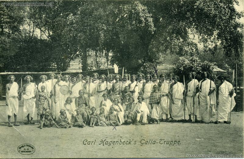 Carl Hagenbeck's Galla-Truppe 1