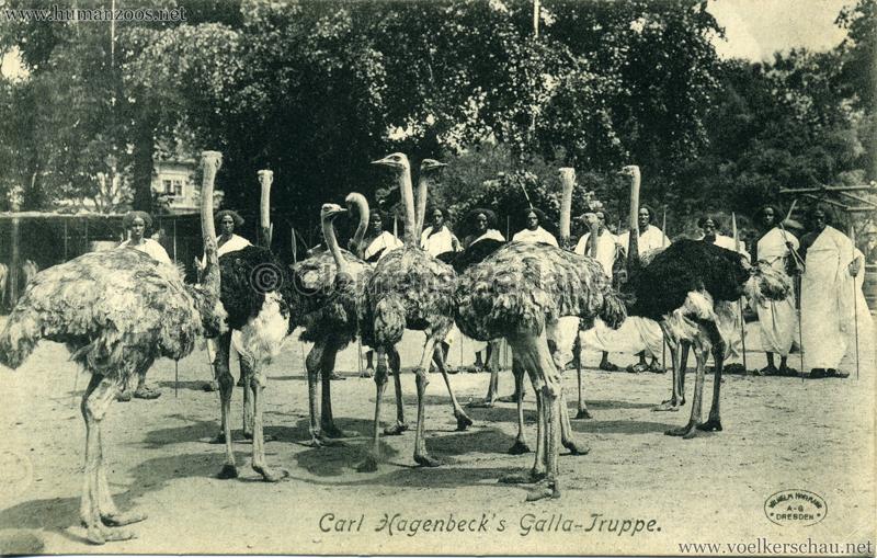 Carl Hagenbeck's Galla-Truppe 2