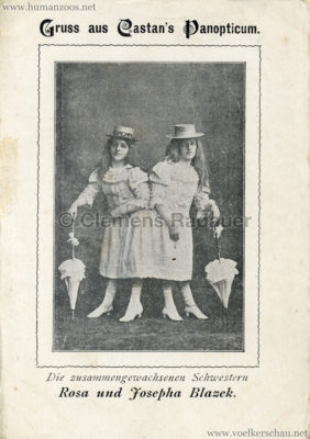 Castan's Panopticum - Rosa und Josepha Blazek VS