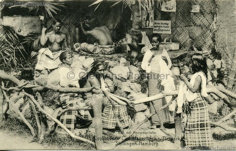 Singhalesentruppe des Ceylondorfes 200