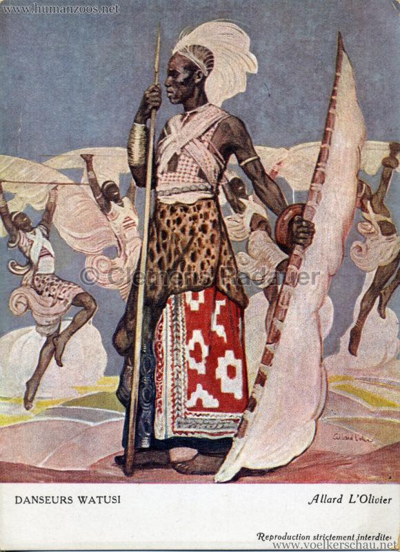 Croix Rouge Du Congo - Danseur Watusi - Allard L'Olivier