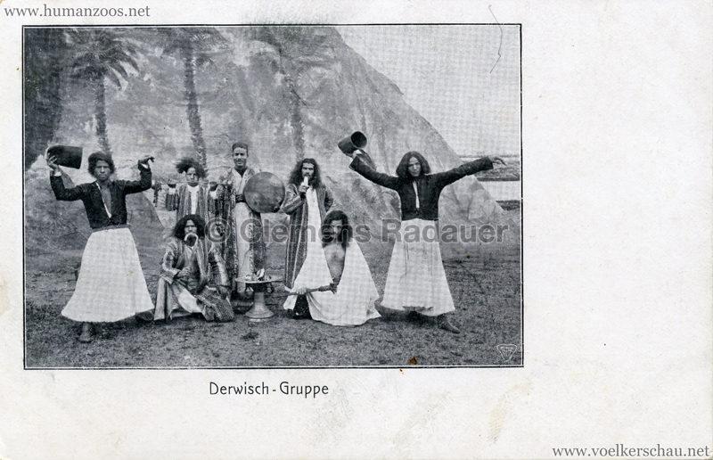 Derwisch - Gruppe (Gruss von den Derwischen)