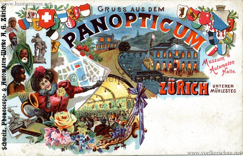 Gruss aus dem Panopticum Zürich