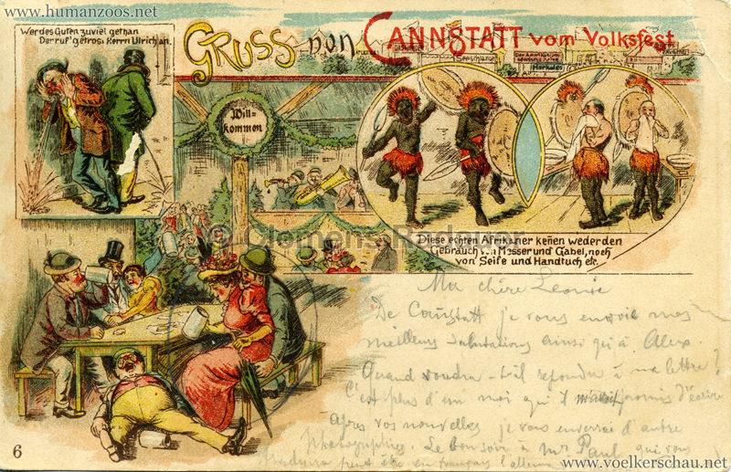 Gruss von Canstatt vom Volksfest