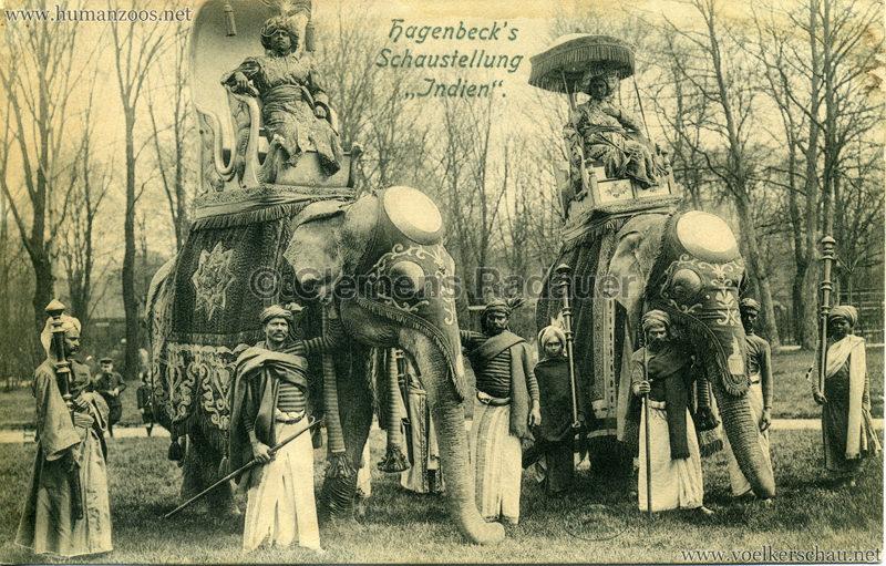 Hagenbeck's Schaustellung