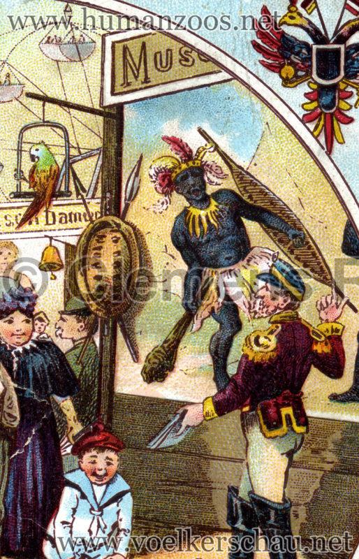 Jahrmarkt 1902 detail