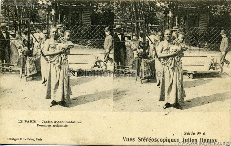 Jardin d'Acclimatation - 12. Femmes Achantis