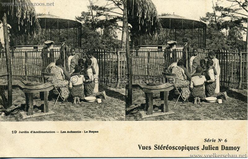 Jardin d'Acclimatation - 19. Les Achantis - Le Repas