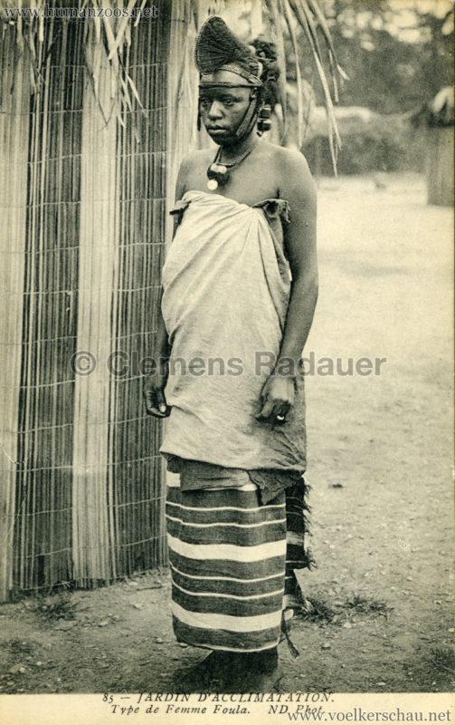 Jardin d'Acclimatation - 85. Type de femme Foula