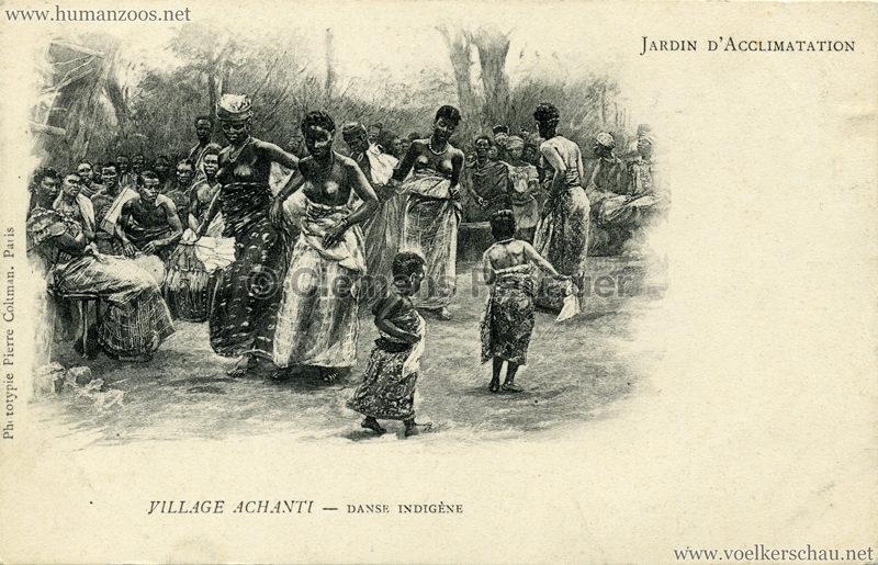 Jardin d'Acclimatation - Village Achanti - Danse indigène
