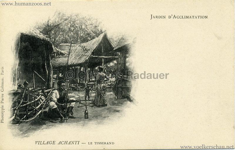 Jardin d'Acclimatation - Village Achanti - Le Tisserand