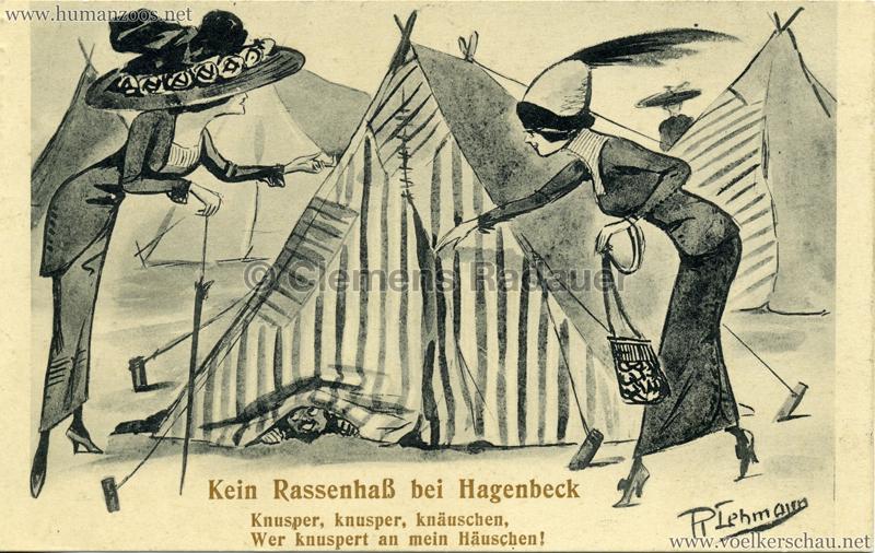 Kein Rassenhaß bei Hagenbeck - Knusper, knusper, knäuschen, Wer knuspert an mein Häuschen!