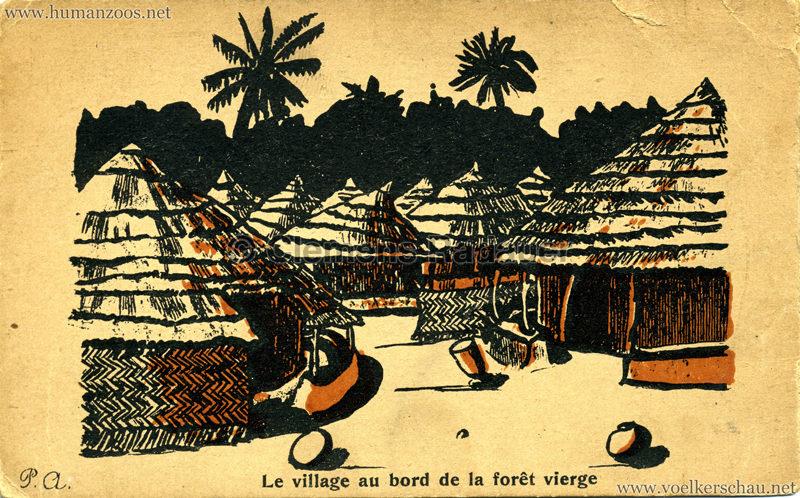 Le village au bord de la fôret vierge