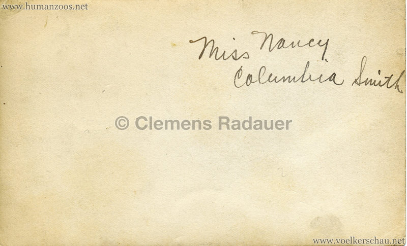 Miss Nancy Columbia Smith 1