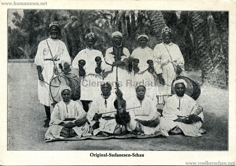 Original-Sudanesen-Schau