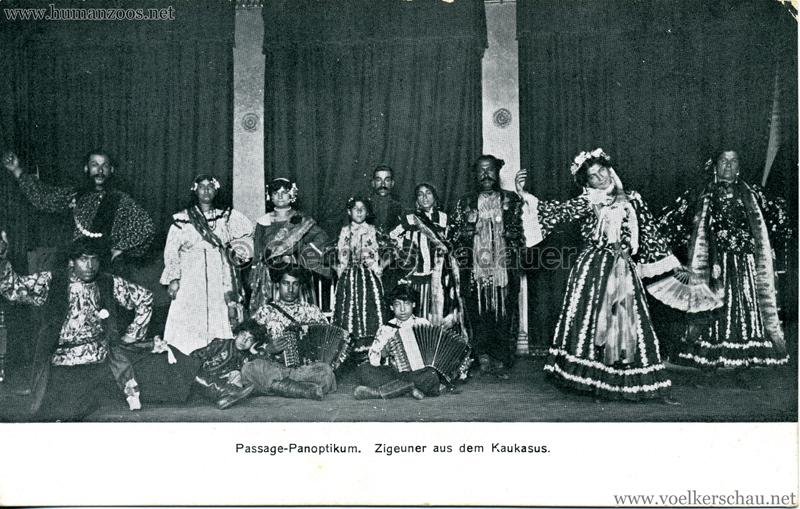 Passage-Panoptikum Berlin - Zigeuner aus dem Kaukasus
