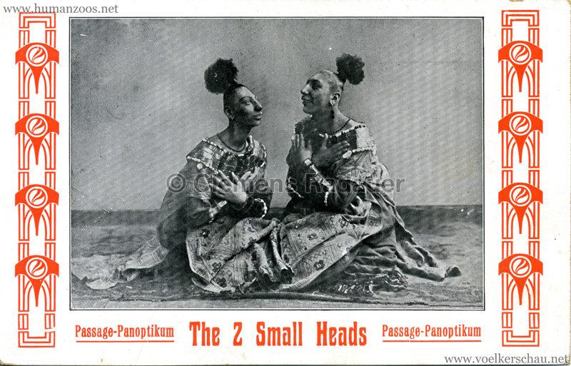 Passage Panoptikum - The 2 Small Heads