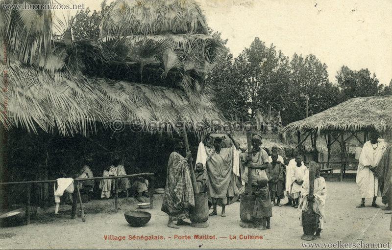 Porte Maillot - Village Sénégalais - La Cuisine
