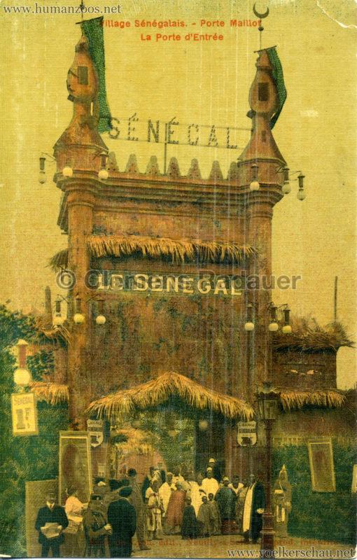 Porte Maillot - Village Sénégalais - La Porte d'Entrée