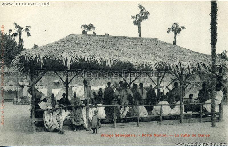 Porte Maillot - Village Sénégalais - La Salle de Danse