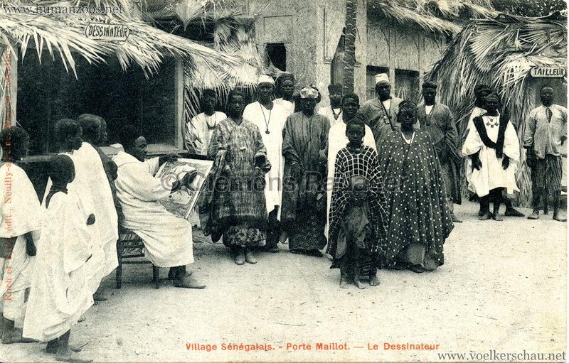 Porte Maillot - Village Sénégalais - Le Dessinateur