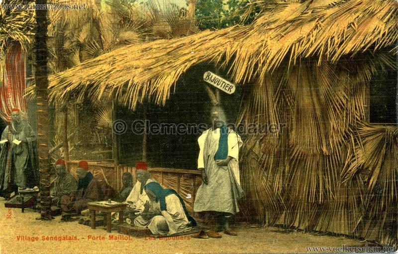 Porte Maillot - Village Sénégalais - Les Bijoutiers