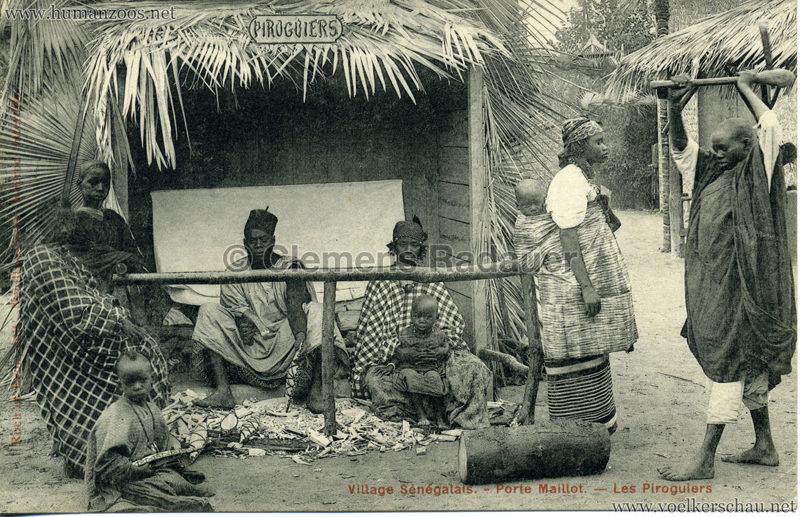 Porte Maillot - Village Sénégalais - Les Piroguiers
