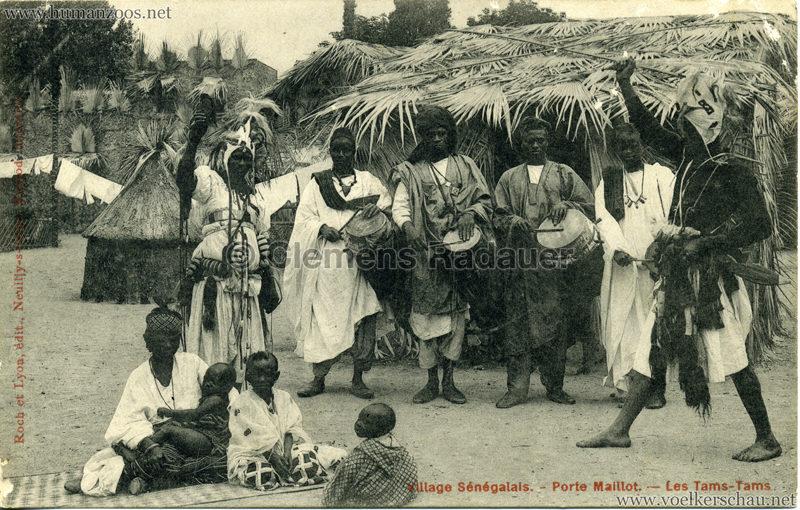 Porte Maillot - Village Sénégalais - Les Tams-Tams