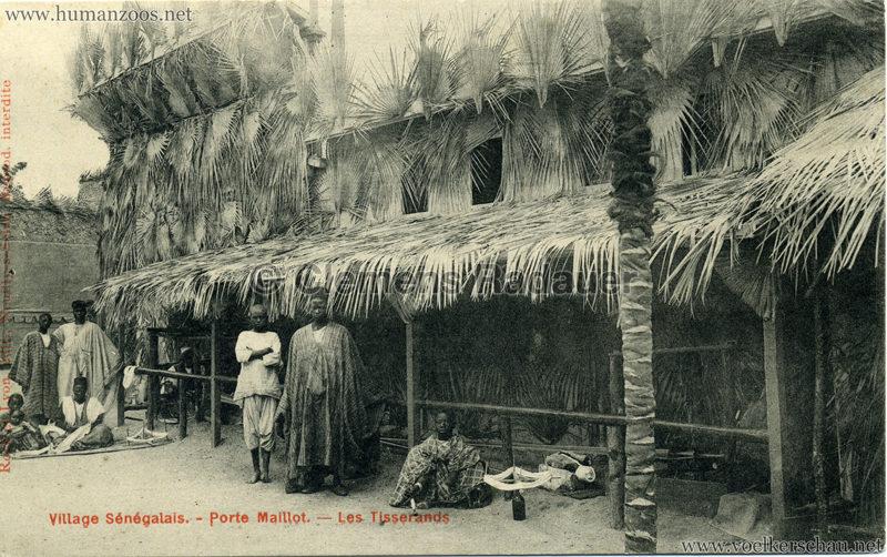 Porte Maillot - Village Sénégalais - Les Tisserands