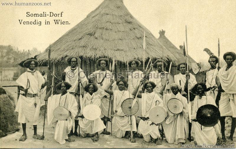 Somali-Dorf Venedig in Wien 6