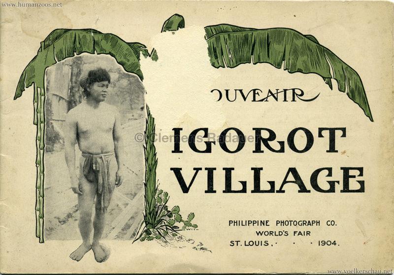 Souvenir Igorot Village Booklet S 1
