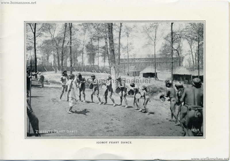 Souvenir Igorot Village Booklet S 15