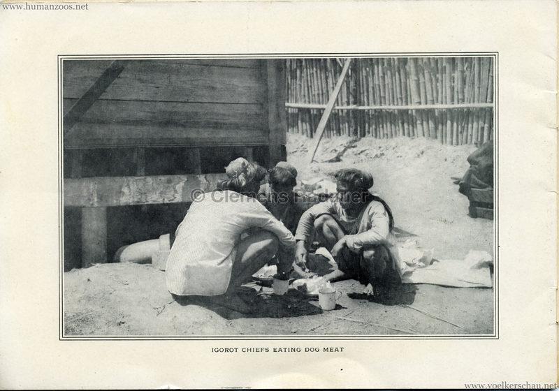 Souvenir Igorot Village Booklet S 18