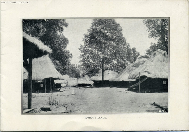 Souvenir Igorot Village Booklet S 3